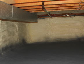 crawl space spray insulation for Connecticut